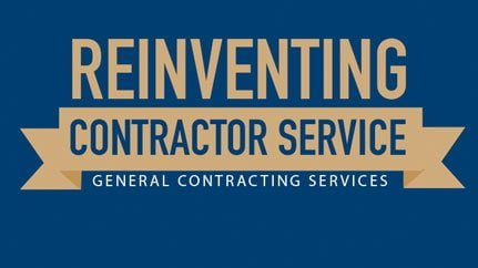 Reinventing contractor service